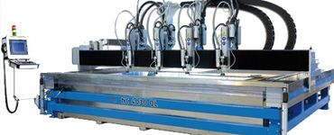 Multi Head Waterjet Cutting Machine