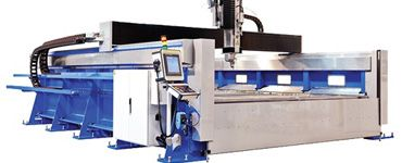 Full 5 axis Waterjet Cutting Machine