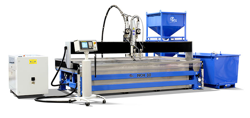 Waterjet cutting nch-30