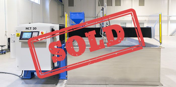 Waterjet Sweden NCT30 Sold